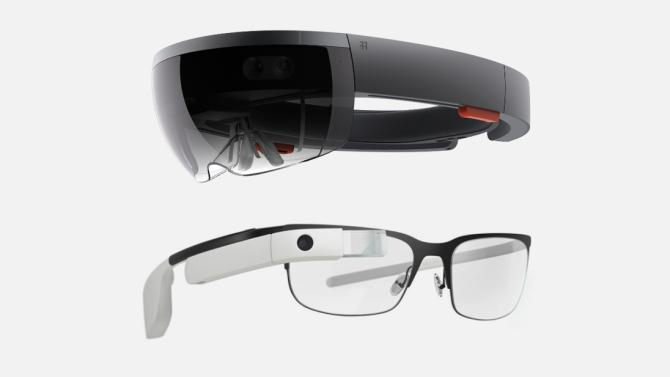 HoloLens compared to Google Glass